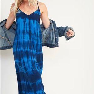 New🌿specially dyed sleeveless maci shift dress
